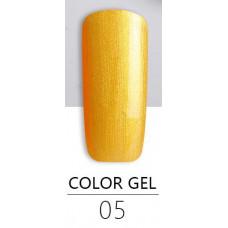 Гель краска BlueSky Color Gel 05 золотая