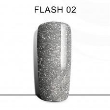 BLUESKY FLASH Gel Lacquer #02 Dark silver
