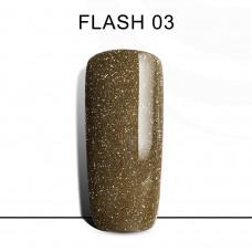 BLUESKY FLASH Gel Lacquer #03 Light gold