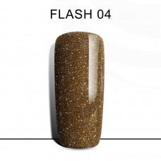 BLUESKY FLASH Gel Lacquer #04 Dark gold