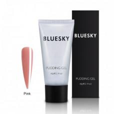 PolyGel BlueSky Pudding Gel камуфлирующий розовый 60гр.
