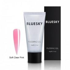 PolyGel BlueSky Pudding Gel прозрачно-розовый 60гр.