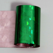 Foil green ice holographic