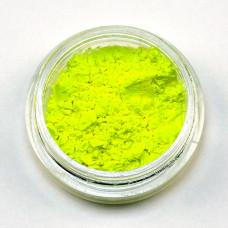 Пигмент неоновый (флуоресцентный) жёлтый