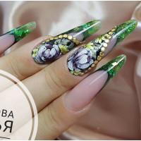 Сам себе мастер/Жостово/Мазковая роспись в дизайне ногтей