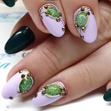 """Жидкие Опалы. Дизайн ногтей в стиле """"Дорого-Богато"""""""